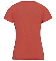 Odlo Concord Bl Top Crew Neck - T-Shirt Wandern - Damen, Orange