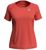 Odlo Element Light S/S Crew Neck - T-Shirt - Damen, Red