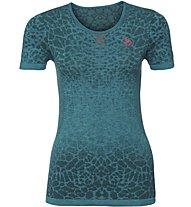 Odlo Evolution Light Blackcomb CNSS - Shirt Running - Damen, Green