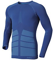 Odlo Evolution Warm L/S Shirt, Blue