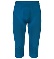 Odlo Evolution warm Pants 3/4 lange Unterhose, Seaport/Black