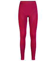 Odlo Evolution Warm Pants - Unterhose lang - Damen, Pink