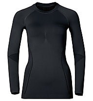 Odlo Evolution Warm crew neck - Funktionsshirt Langarm - Damen, Black