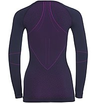Odlo Evolution Warm crew neck - Funktionsshirt Langarm - Damen, Violet