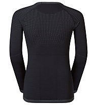 Odlo Evolution Warm crew neck - Funktionsshirt Langarm - Kinder, Black