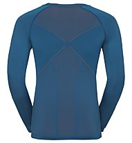 Odlo Evolution warm - maglia funzionale manica lunga - uomo, Light Blue