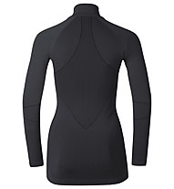 Odlo Evolution Warm Turtle neck 1/2 Zip - Funktionsshirt Langarm - Damen, Black/Odlo Graphite Grey