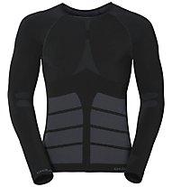 Odlo Evolution Warm Shirt LS crew neck, Black