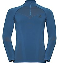 Odlo Evolution Warm - maglia tecnica a manica lunga - uomo, Light Blue