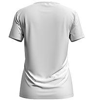 Odlo F-Dry Print S/S Crew Neck - T-Shirt - Damen, White