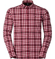 Odlo Fairview Shirt Ls Herren Wanderhemd lang, Red