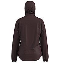 Odlo Fli S-Thermic Insulated - giacca con cappuccio - donna, Brown