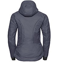 Odlo Flow Cocoon Zw Insulate - giacca con cappuccio trekking - donna, Dark Blue