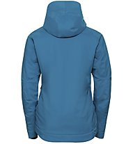 Odlo Flow Cocoon ZW Waterproof - Hardshell-Jacke Alpin - Damen, Light Blue