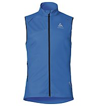 Odlo Frequency 2.0 WINDSTOPPER Vest Gilet sci, Directoire Blue