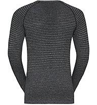 Odlo Girocollo Seamless - maglia manica lunga running - uomo, Dark Grey