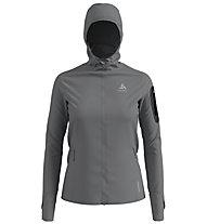 Odlo Blaze Ceramiwarm Pro Hoody Midlayer - giacca trekking - donna, Grey