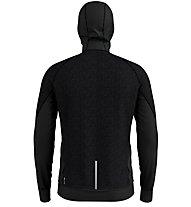 Odlo Millennium Yakwarm Midlayer - giacca in pile sci di fondo - uomo, Black