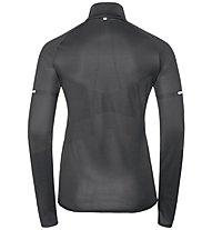 Odlo Hybrid Seamless Irbis - giacca ibrida- donna, Black/Silver