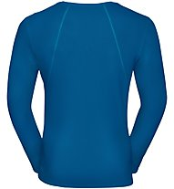 Odlo Imperium - Runningshirt Langarm - Herren, Blue