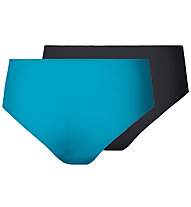 Odlo Slip donna Invisibles Panty, Algiers Blue/Black