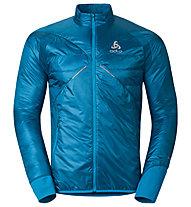 Odlo Loftone PrimaLoft Jacket Giacca da sci, Light Blue