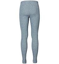 Odlo Warm Pants - Unterhose Lang - Herren, Grey Melange