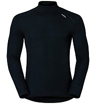 Odlo Warm Shirt L/S turtle neck - Funktionsshirt langarm - Herren, Black