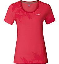 Odlo Maren - T-Shirt Wandern - Damen, Red Printed