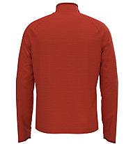 Odlo Midlayer 1/2 Zip Millenium Element - Langarm-Shirt mit Reißverschluss - Herren, Dark Orange