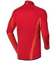 Odlo Midlayer 1/2 Zip Sarajevo, Formula One/Spicy Orange