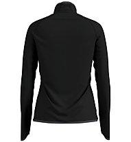 Odlo Carve Ceramiwarm Midlayer - giacca in pile - donna, Black