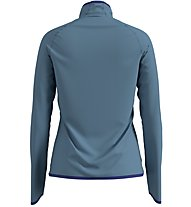 Odlo Carve Ceramiwarm Midlayer - Fleecejacke - Damen, Blue