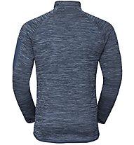 Odlo Midlayer Steam - giacca in pile - uomo, Blue