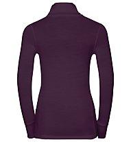 Odlo Natural 100% Merino Warm turtle neck - Funktionsshirt Langarm - Damen, Purple