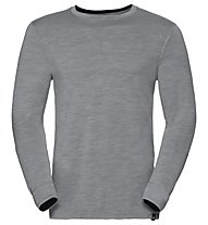 Odlo Natural 100% Merino Warm - Funktionsshirt Langarm - Herren, Grey