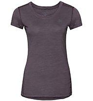 Odlo Natural+ Light SUW - Funktionsshirt - Damen, Purple