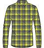 Odlo Nikko Check - camicia a maniche lunghe trekking - uomo, Green