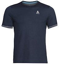 Odlo Nikko F-Dry Light Bl - T-shirt - uomo, Blue