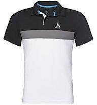Odlo Nikko Light Polo - Poloshirt Bergsport - Herren, Black/White