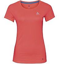 Odlo Omnius Bl - maglia running - donna, Red