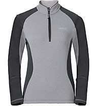 Odlo Pact Midlayer 1/2 Zip - Fleecepullover - Damen, Grey