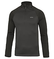 Odlo Pact Midlayer 1/2 zip - Fleecepullover - Herren, Dark Grey