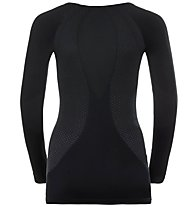 Odlo Performance Warm Essent Suw - maglietta tecnica - donna, Black