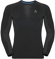 Odlo Performance Warm Cn LS - maglietta tecnica - uomo, Black