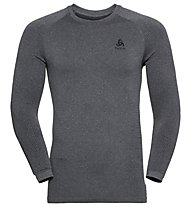 Odlo Performance Warm Eco Baselayer - maglia a maniche lunghe - uomo, Grey