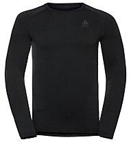 Odlo Performance Warm Eco Baselayer - Langarmshirt - Herren, Black