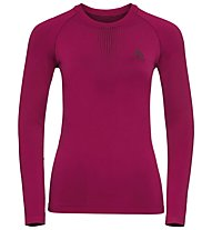 Odlo Performance Warm Top Cn - maglietta tecnica - donna, Pink