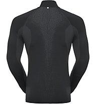 Odlo Performance Warm Turtlen 1/2 Zip - Funktionsshirt Langarm RV - Herren, Black