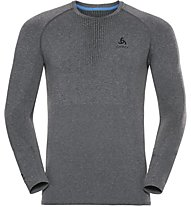 Odlo Performance Warm CN LS - Funktionsshirt Langarm - Herren, Grey